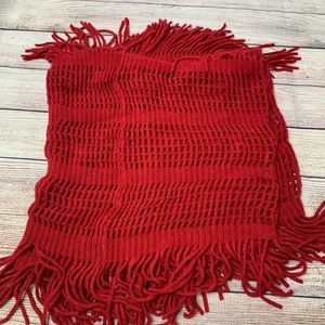 D&Y Accessories - D&Y red infinity scarf